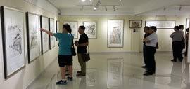 高清图:天津文交所举办第二届具有收藏潜力艺术作品展